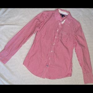 Tommy Hilfiger Candy Striped Button Up